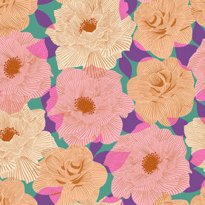 Camellia By Melody Miller Of Ruby Star Society For Moda - Watercress