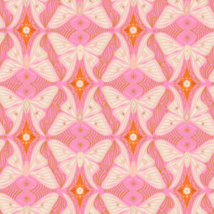 Camellia By Melody Miller Of Ruby Star Society For Moda - Flamingo
