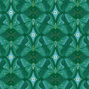 Camellia By Melody Miller Of Ruby Star Society For Moda - Jade