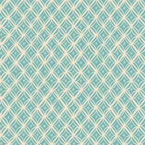 Camellia By Melody Miller Of Ruby Star Society For Moda - Turquoise