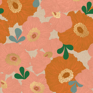 Camellia By Melody Miller Of Ruby Star Society For Moda - Canvas - Caramel