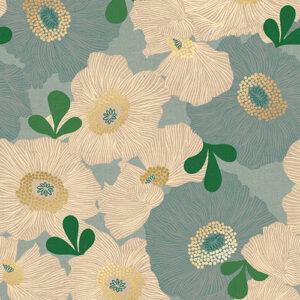 Camellia By Melody Miller Of Ruby Star Society For Moda - Canvas - Polar