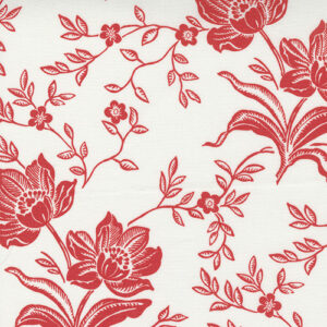 Fresh Fig Favorites By Fig Tree & Co. For Moda - Ivory - Red
