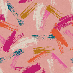 Birthday By Sarah Watts Of Ruby Star Society For Moda - Canvas - Cotton Candy