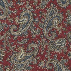 Mary Ann\'s Gift 1850-1880 By Betsy Chutchian For Moda - Red