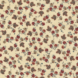 Mary Ann\'s Gift 1850-1880by Betsy Chutchian For Moda - Biscuit