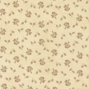 Mary Ann\'s Gift 1850-1880 By Betsy Chutchian For Moda - Biscuit - Saddle