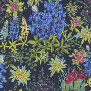 Wildflowers By Moda - Indigo