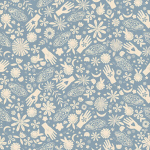 """Moonglow 108"""" Quiltback By Ruby Star Society For Moda - Sky"""