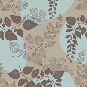Unruly Nature By Jen Hewett Of Ruby Star Society For Moda - Steel