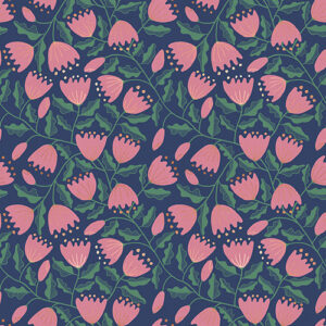 Unruly Nature By Jen Hewett Of Ruby Star Society For Moda - Bluebell