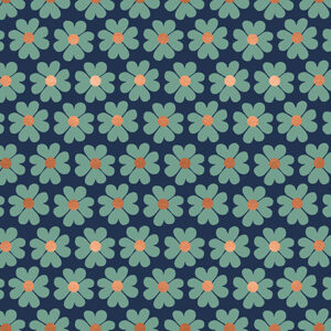 Unruly Nature By Jen Hewett Of Ruby Star Society For Moda - Navy