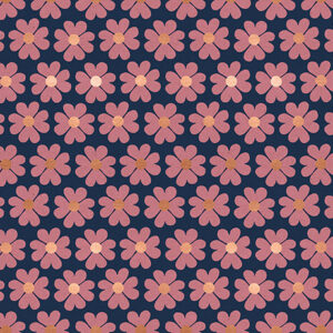Unruly Nature By Jen Hewett Of Ruby Star Society For Moda - Canvas - Navy