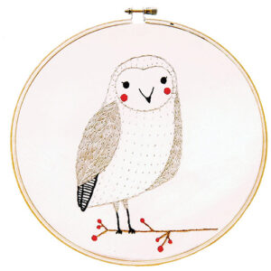 Embroidery Sampler/Owl - By Moda - Min. Of 3