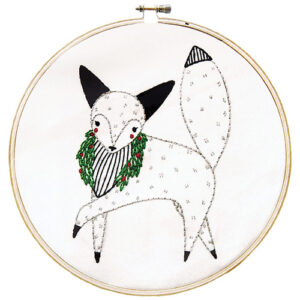 Embroidery Sampler/Fox  - By Moda - Min. Of 3