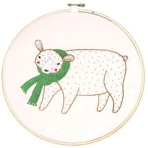 Embroidery Sampler/Bear  - By Moda - Min. Of 3