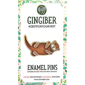 Enamel Pins - Otter By Gingiber For Moda - Minimum Of 3