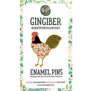 Enamel Pins - Rooster By Moda - Min. Of 3