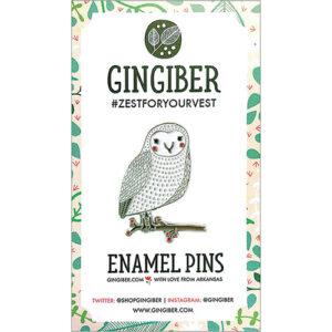 Enamel Pin Owl  - By Moda - Min. Of 3