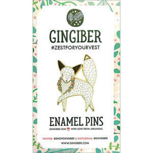 Enamel Pin Fox  - By Moda - Min. Of 3