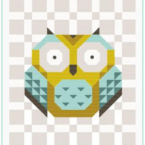 Bella Solids Little Owl Kit By Moda