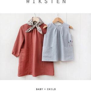 Baby/Child Smock Top/Dress Pattern By Wiksten Patterns For Moda - Minimum Of 3