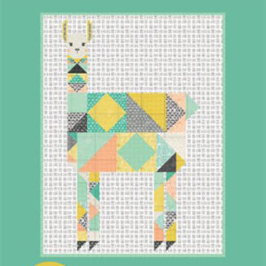 Patchwork Llama Pattern By Gingiber For Moda - Min. Of 3