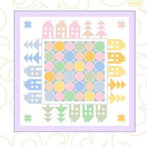 Hamlet Pattern By Wendy Sheppard For Moda - Minimum Of 3