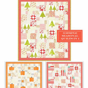 Seasonal Patchwork Pattern By Fig Tree Quilts For Moda - Minimum Of 3