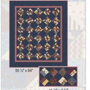 Saturday Patchwork Pattern By Betsy Chutchian For Moda - Minimum Of 3