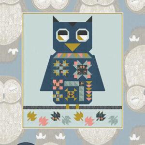 Owl Habitat Pattern By Gingiber For Moda - Minimum Of 3