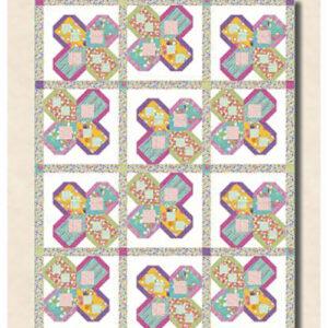Petal Power Pattern By Antler Quilt Design For Moda - Minimum Of 3