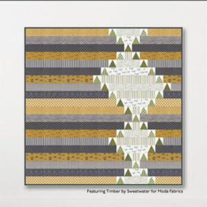 Winding Pines Pattern By Crabtree Arts Collective For Moda - Minimum Of 3
