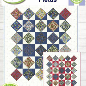 Wildflowers Field Pattern By Lavender Lime For Moda - Minimum Of 3