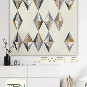 Jewels Pattern By Zen Chic For Moda - Minimum Of 3