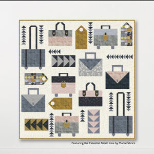 Baggage Claim Pattern By Crabtree Arts Collective For Moda - Minimum Of 3