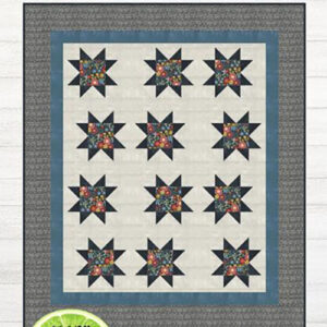 Eclipsing Stars Pattern By Lavender Lime For Moda - Minimum Of 3