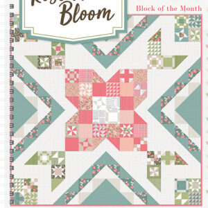 Rose In Bloom Bom/10 Pattern By It\'s Sew Emma For Moda
