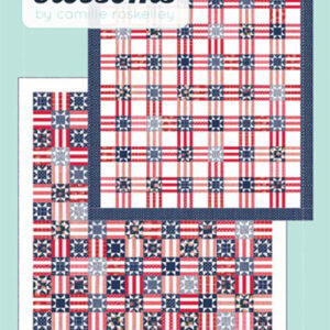 Stars And Stripes 2 Pattern By Thimble Blossoms For Moda - Minimum Of 3