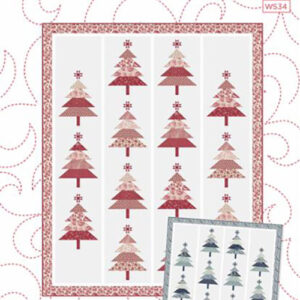 Pine-Ing For Christmas Pattern By Wendy Sheppard For Moda - Minimum Of 3