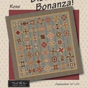 Block Bonanza Rose Pattern By Sarah J For Moda