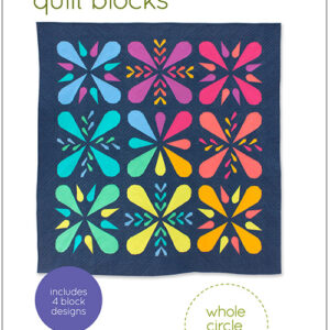Patchwork Petals Pattern By Whole Circle Studio For Moda - Minimum Of 3