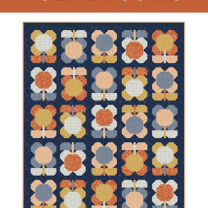 Folk Blooms Patrern By Pen And Paper Patterns For Moda - Minimum Of 3