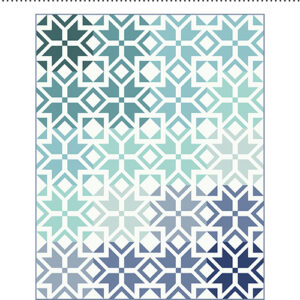 Nordic Star Pattern By Patchwork & Poddles For Moda - Minimum Of 3