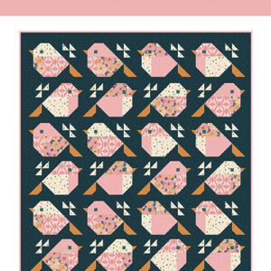 Sparrows Pattern By Pen + Paper Patterns For Moda - Minimum Of 3