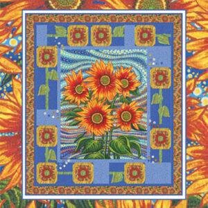 Sunflower Dream Pattern By Coach House Desing - Minimum Of 3
