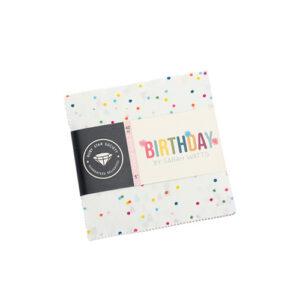 Birthday Charm Packs By Moda - Packs Of 12