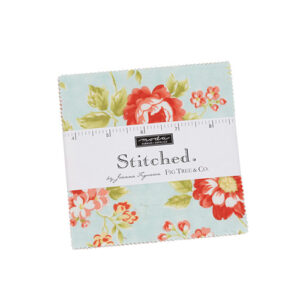 Stitched Charm Packs By Moda - Packs Of 12