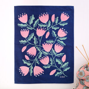 Cup And Saucer Vine Tea Towel By Ruby Star Society For Moda - Multiple Of 6