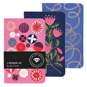 Buttons Small Three-Notebook Set By Jen Hewett For Moda - Multiple Of 6